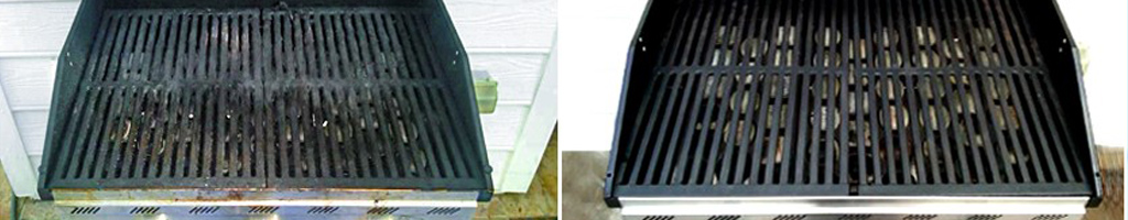 Maryland Grill Cleaning before and after